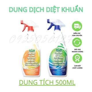 Dung Dịch Xịt Giúp Diệt Khuẩn Mỗi Ngày Green Cross A2 500ml thumbnail