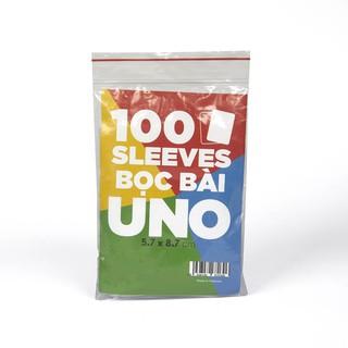 Sleeves bọc bài UNO cơ bản và đại chiến 5.7 x 8.7 cm chất lương cao