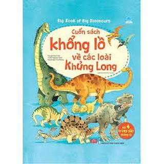 Sách Big Book - Cuốn Sách Khổng Lồ Về Các Loài Khủng Long