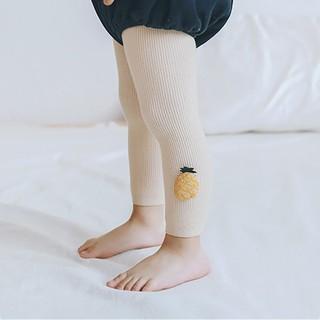 Quần Legging Cotton Co Giãn Dễ Thương Cho Bé Gái Sơ Sinh