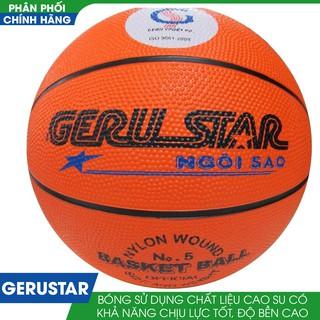 Quả bóng rổ Gerustar cao su