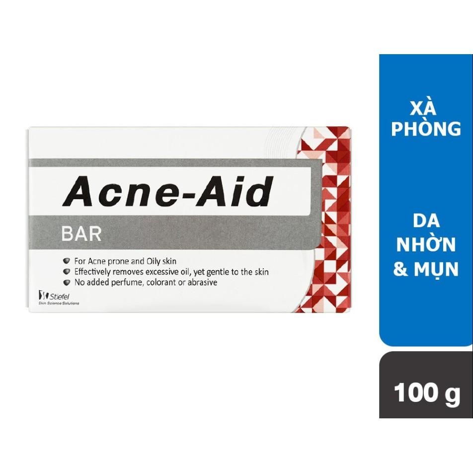 ✔️️️[Date mới nhất] Xà phòng xử lý mụn, kháng khuẩn Acne - Aid Soap