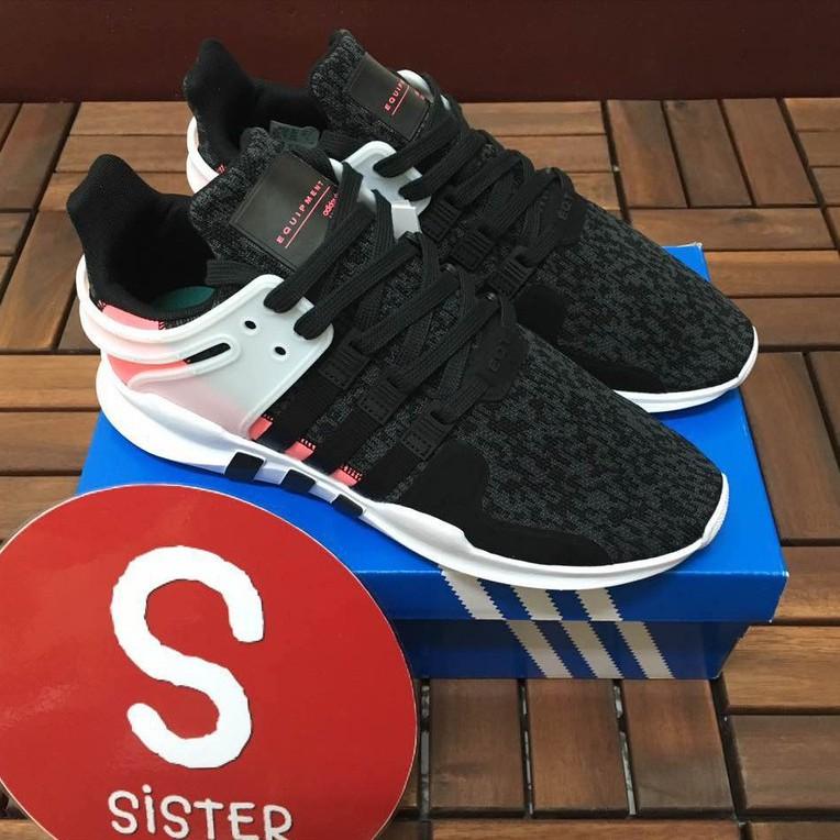 Adidas EQT รองรับ ADV 93/17 Black Powder Snowflake BB1302 รองเท้าวิ่งน้ำหนักเบารองเท้าคู่