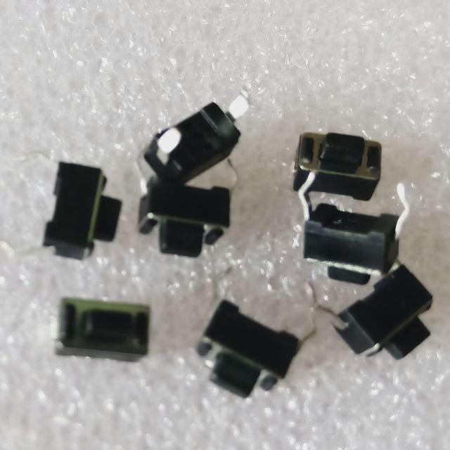 Nút nhấn reset đen 3x6x5 2 chân (5 con)