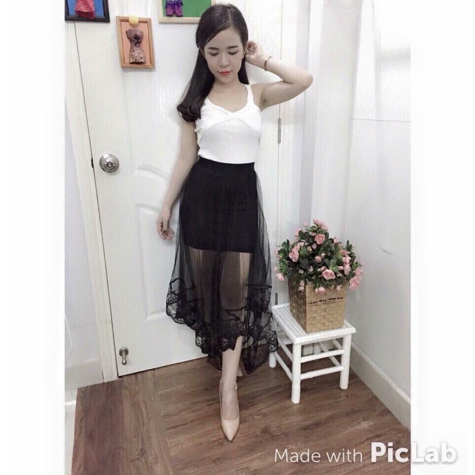 Chân Váy MiDi Đuôi Cá Điệu Đà Cho Các Bạn Gái_DMA Store