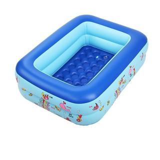 Bể bơi trong nhà cho bé siêu tiện lợi, thiết kế chắc chắn, đàn hồi, tạo cảm giác thoải mái khi sử dụng BB180