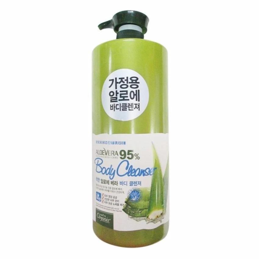Sữa tắm ORGANIA WHITE GOOD NATURE ALOE VERA BODY CLEANSER 1500ml
