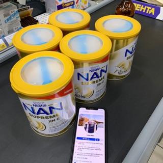 [GIÁ TỐT KÈM BILL SẴN HÀNG] Sữa Nan Supreme HMO Xách tay Nga 400g & 800g