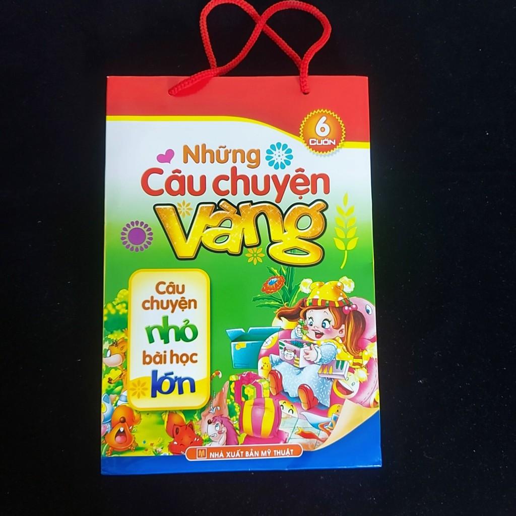 SÁCH- NHỮNG CÂU CHUYỆN VÀNG -ML(bộ túi - dành cho bé 0-6 tuổi)