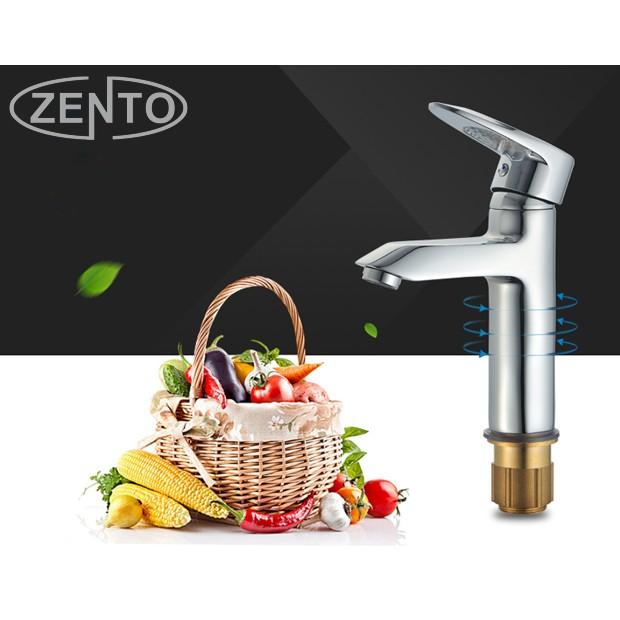 Vòi chậu lavabo nóng lạnh Zento ZT-ZS2017