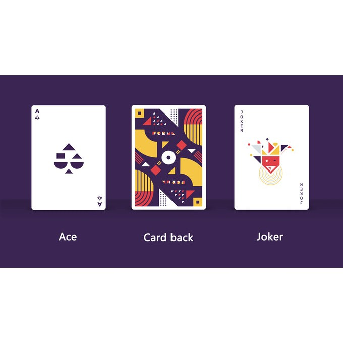 Bài Tây PURPLE FORMA Playing cards