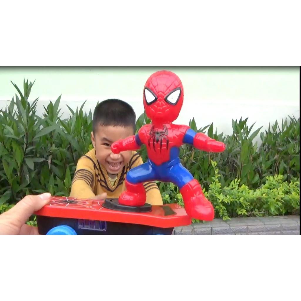 Đồ chơi người nhện trượt ván cho bé - 3055512 , 1197677461 , 322_1197677461 , 102000 , Do-choi-nguoi-nhen-truot-van-cho-be-322_1197677461 , shopee.vn , Đồ chơi người nhện trượt ván cho bé