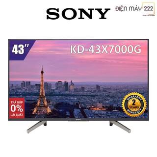 [Freeship HN] Smart Tivi Sony 43 inch 4K UHD KD-43X7000G Hàng Chính Hãng