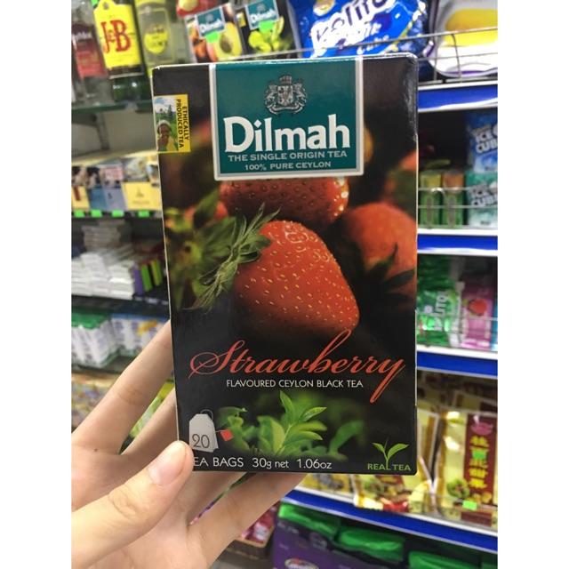 Trà Dilmah hoa quả