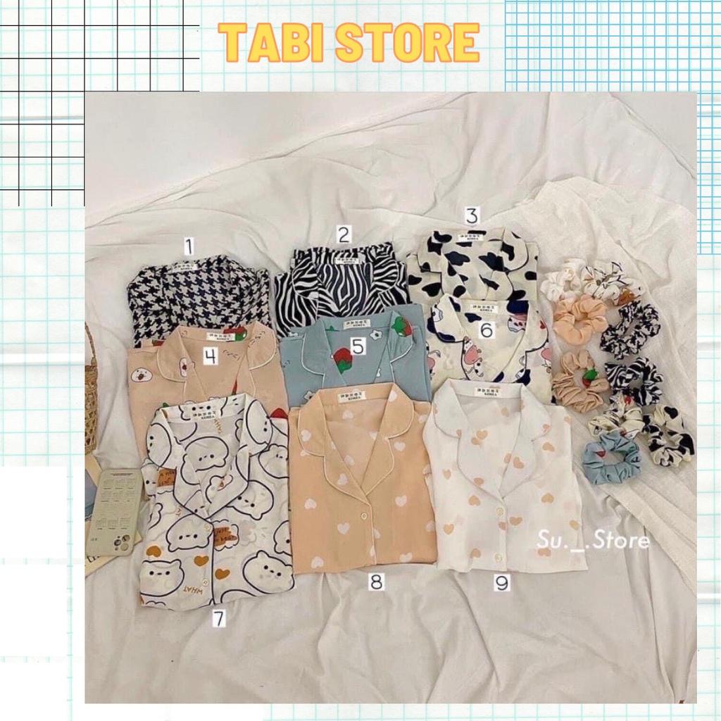 [Mã SKAMSALE8 giảm 10% đơn 200K] Set bộ pijama dưới 55kg tabistore - pijama 2 túi