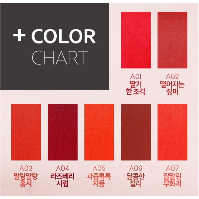 [SẴN MÀU TỪ A01=> A17] Son Kem Lì Black Rouge Air Fit Velvet Tint – Hàn QuốcA01A01