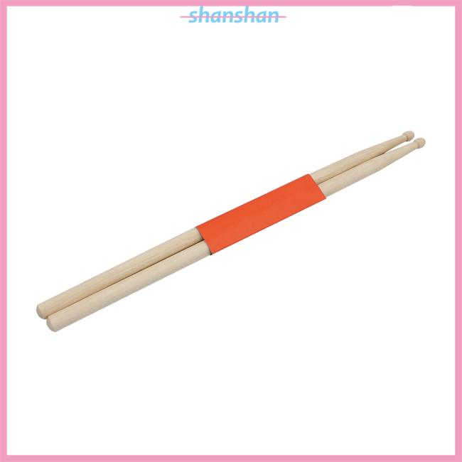 1 Pair Wood Music Drum sticks 5A Size Maple Stick for Drum Musical Parts Accessories