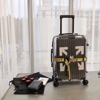 siêu phẩm vali kéo x off white