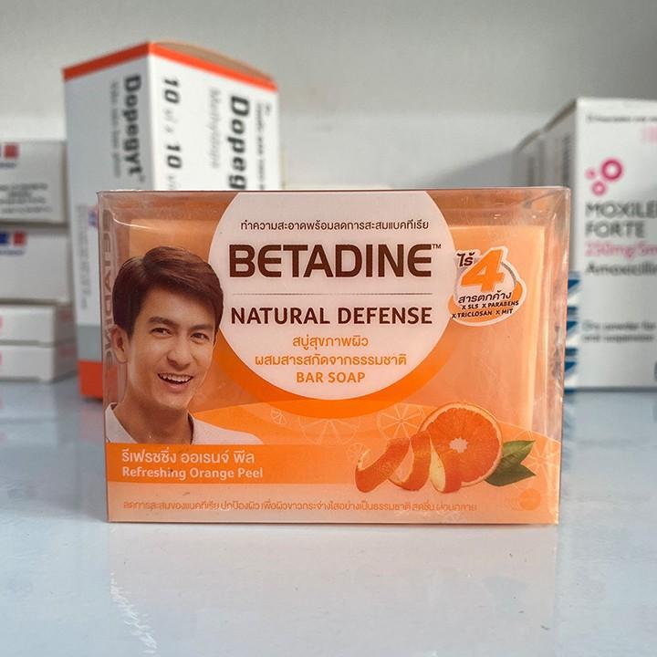 Xà phòng kháng khuẩn Betadine Natural Defense 110g