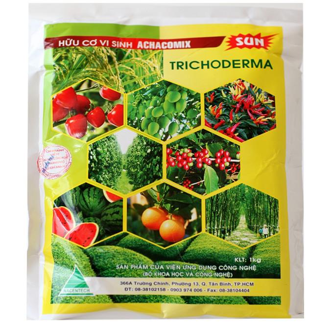 Hữu Cơ Vi Sinh ACHACOMIX TRICHODERMA (Tricoderma) SUN (1kg)