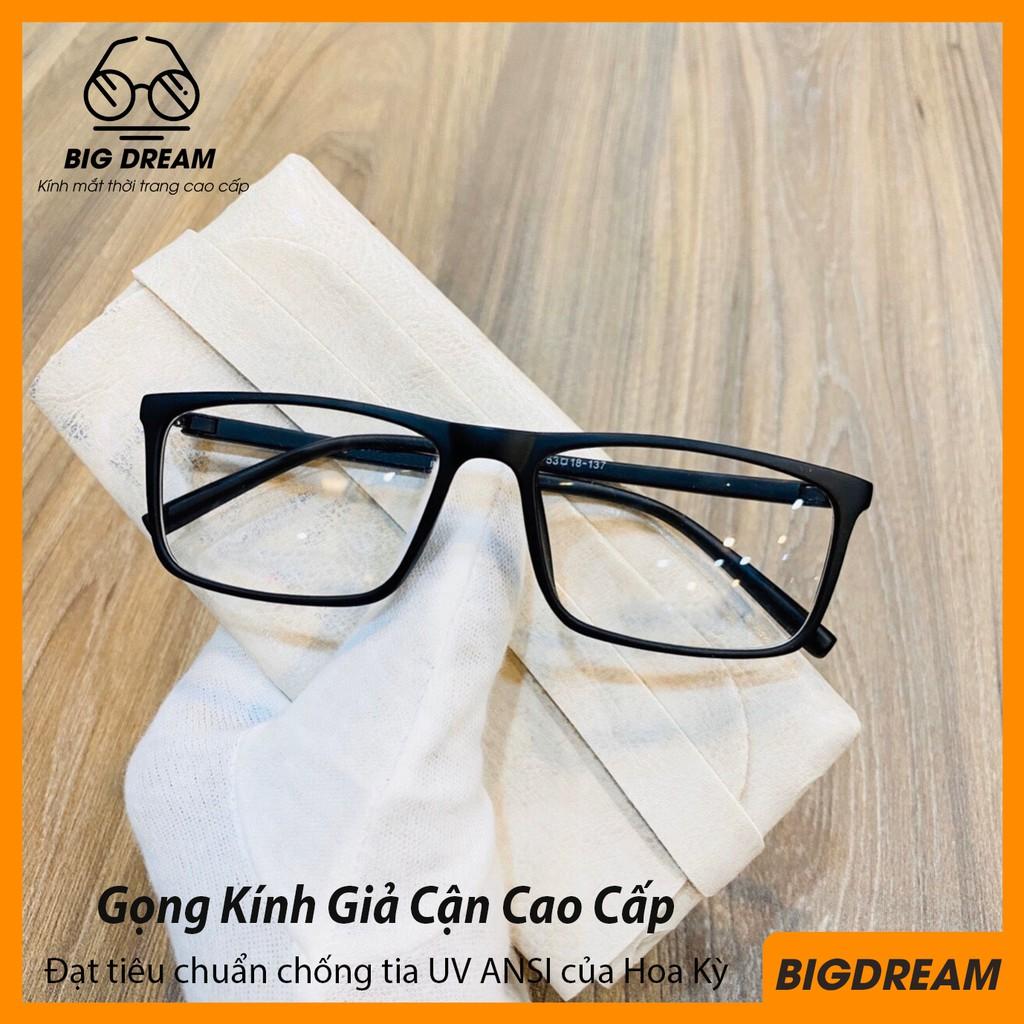 Kính giả cận nam nữ thời trang Hàn Quốc cao cấp – Gọng kính cận, mắt kính không độ vuông...