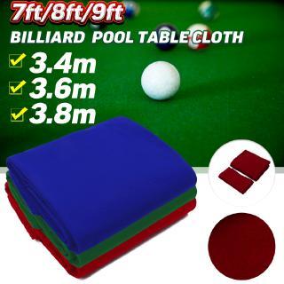 SHOUSE Worsted Pool Table Cloth 7ft Table – Fast Billiard Felt PRE-CUT RAILS