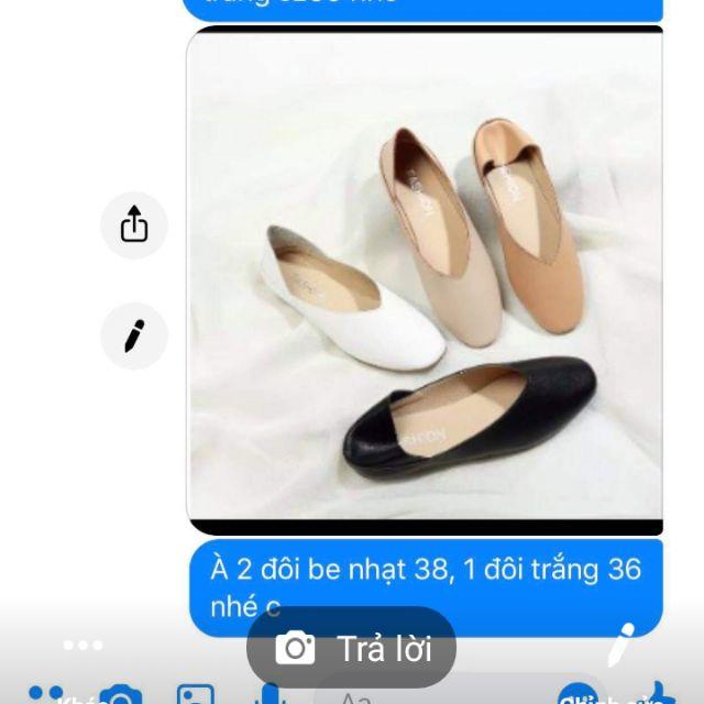 Combo giày ( yến cherry)