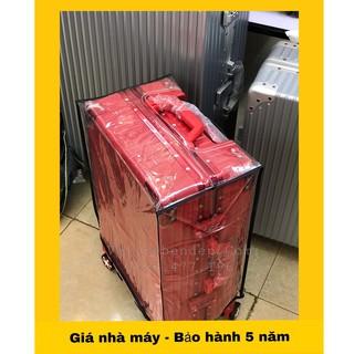 Áo bọc vali silicon trong suốt, áo trùm vali chống xước, chống nước, chống bụi bẩn size20 size24 size28 size29 thumbnail