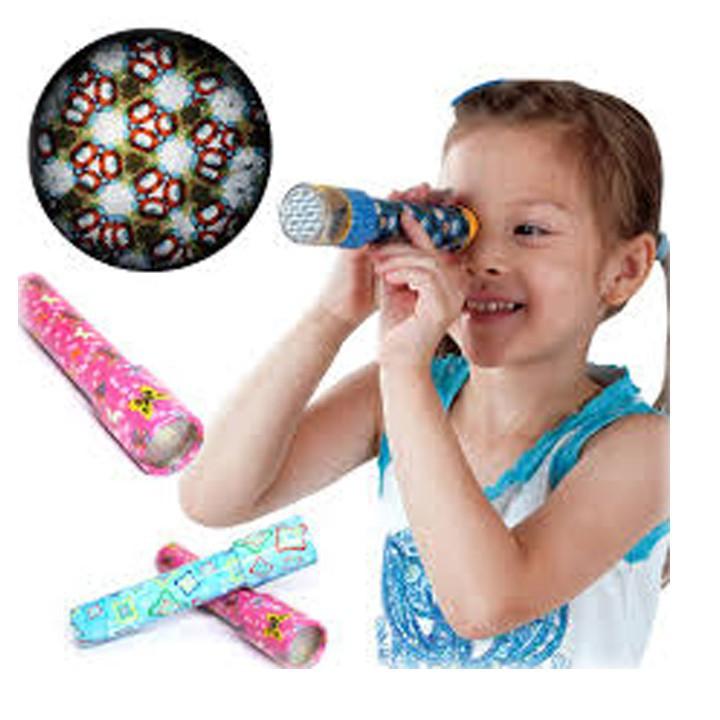 Ống nhòm kính vạn hoa đủ sắc màu cho bé tư duy KT 20×4.2cm mã skuu LO2466