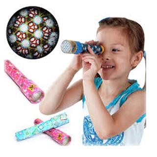Ống nhòm kính vạn hoa đủ sắc màu cho bé tư duy KT 20×4.2cm matnadochoi