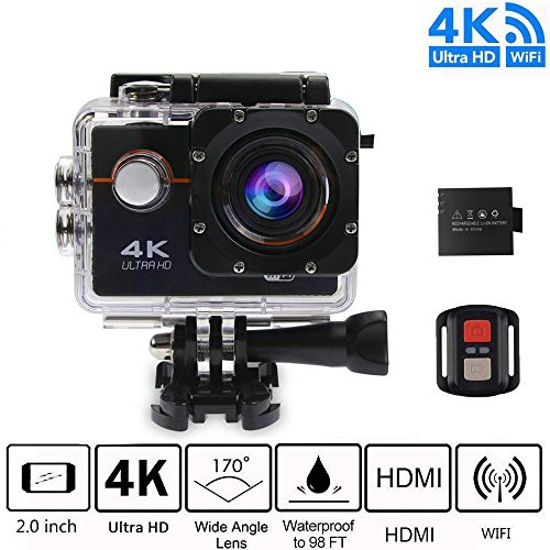 Camera hành trình 4K UltraHD Wifi Action Camera chống nước