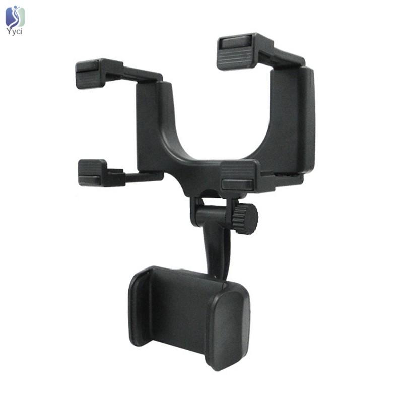 Giá đỡ điện thoại gắn kính chiếu hậu xe ô tô tiện lợi