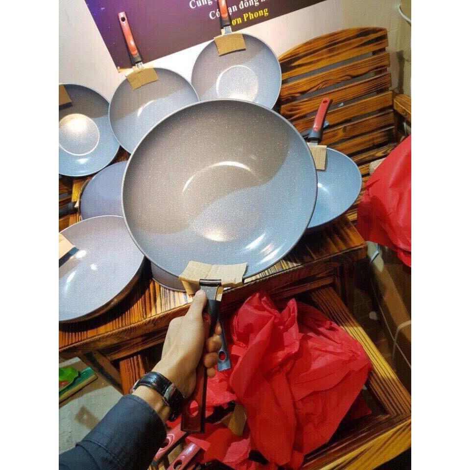 Chảo vân đá sâu lòng dùng cho mọi loại bếp (32cm) - 2514070 , 1008627169 , 322_1008627169 , 110000 , Chao-van-da-sau-long-dung-cho-moi-loai-bep-32cm-322_1008627169 , shopee.vn , Chảo vân đá sâu lòng dùng cho mọi loại bếp (32cm)
