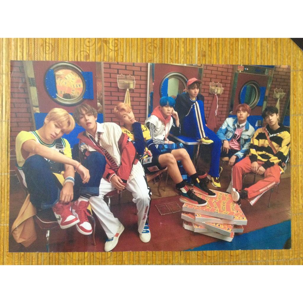 poster BTS, TXT (hàng hiếm), Huening Kai