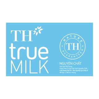 Sữa tươi nguyên chất không đường 180ml