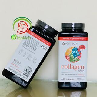 Collagen Youtheory Type 1 2 & 3 Của Mỹ, 390 viên thumbnail