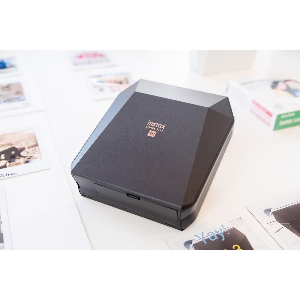 Máy in ảnh Fujifilm Instax Share SP-3 + 1 pack film square 10 kiểu
