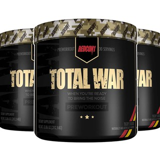 Pre-Workout TOTAL WAR Tăng Sức Mạnh Tập Luyện Thể Thao Hộp 30 Servings
