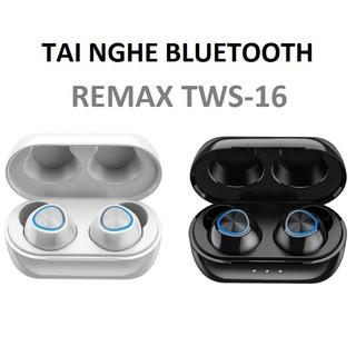 Tai nghe Bluetooth True Wireless Remax TWS-16 kèm dock sạc