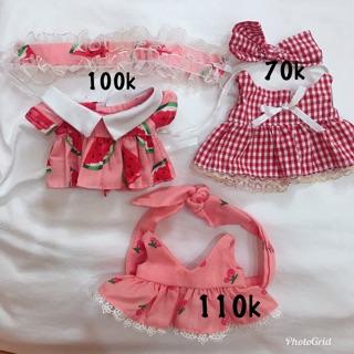 Váy cho doll 20cm