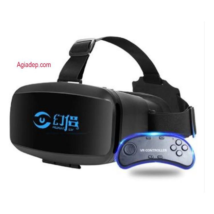 Kính thực tế ảo 3D VR - hãng Phantom nổi tiếng phục vụ chơi game (Có điều khiển)