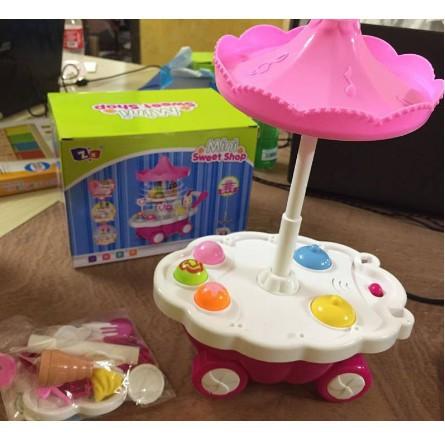 đồ chơi Xe đẩy kem cho bé mới nhất
