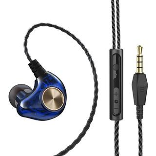 [Mã ELORDER5 giảm 10K đơn 20K] Tai Nghe Nhét Tai HI-FI Âm thanh 5D Có Dây Micro 3.5mm hỗ trợ mic K1
