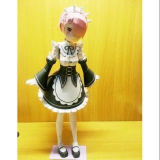 Mô hình giấy anime girl[Re:Zero kara Hajimeru Isekai Seikatsu] Ram