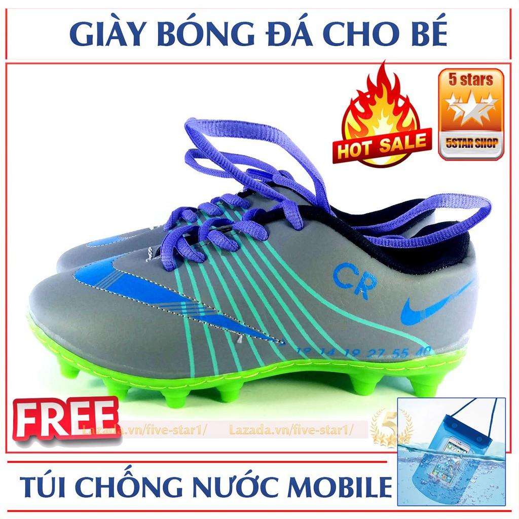 Giày đá banh thể thao cho trẻ em CR7: Siêu nhẹ + Tặng túi chống nước điện thoại - 2949850 , 1208127890 , 322_1208127890 , 219000 , Giay-da-banh-the-thao-cho-tre-em-CR7-Sieu-nhe-Tang-tui-chong-nuoc-dien-thoai-322_1208127890 , shopee.vn , Giày đá banh thể thao cho trẻ em CR7: Siêu nhẹ + Tặng túi chống nước điện thoại