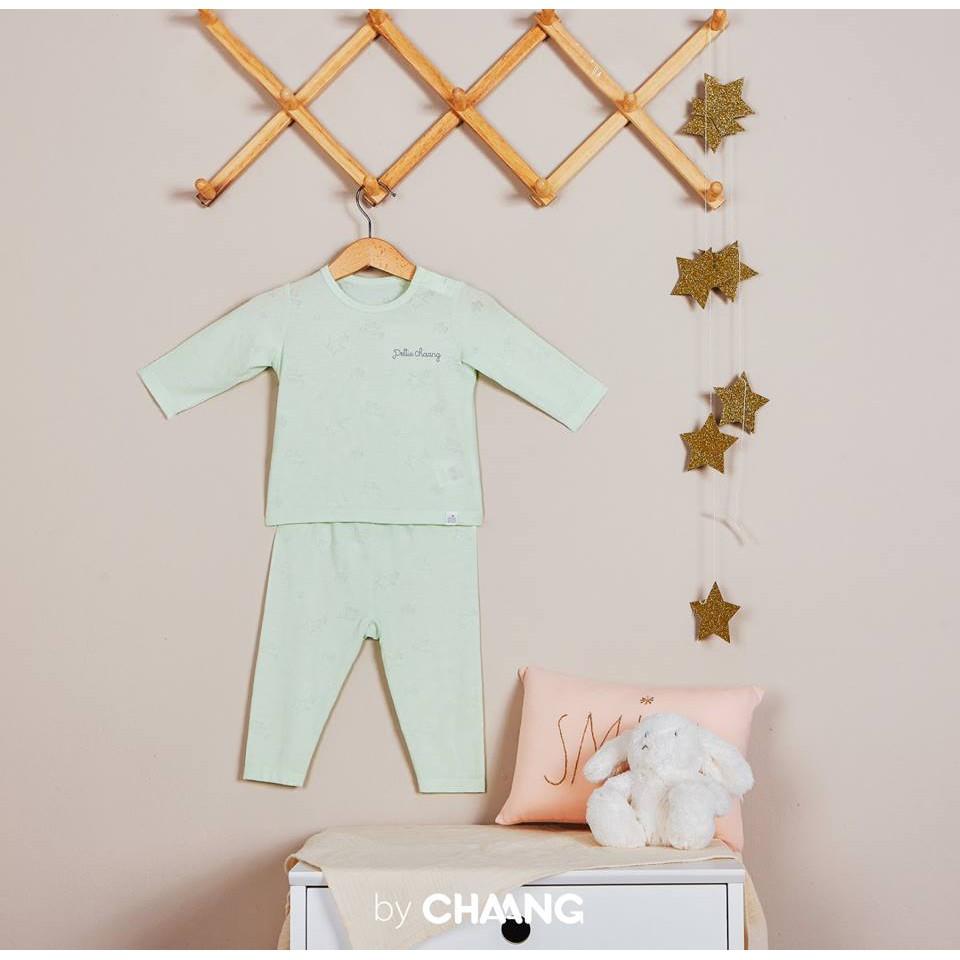 HÈ THU 2018 - Bộ quần áo dài cúc vai vải mỏng vân sao (8 màu)