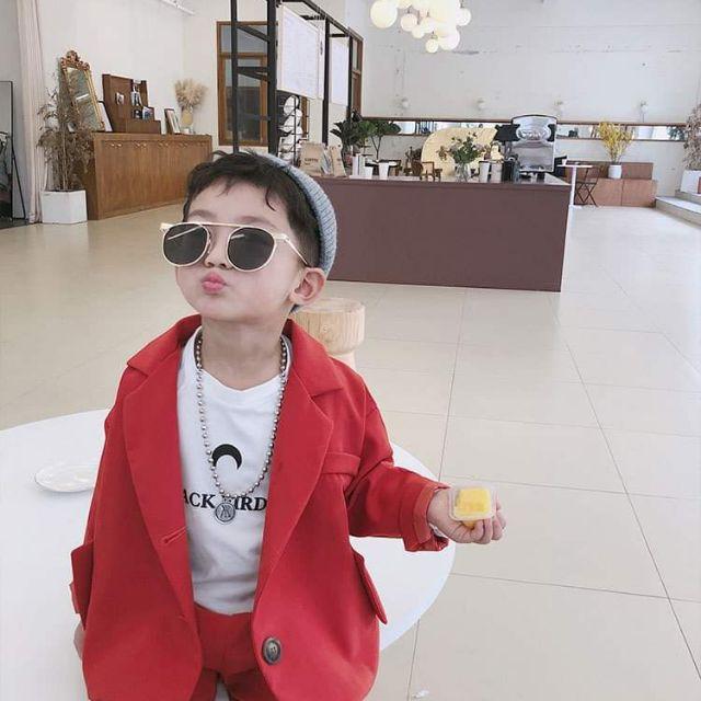 Set bé trai Kim Hồng