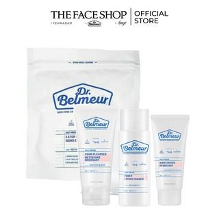 Bộ Sữa Rửa Mặt TheFaceShop Dr.Belmeur &Bộ Dưỡng Daily Repair 3-Step Kit & Bông tẩy trang thumbnail