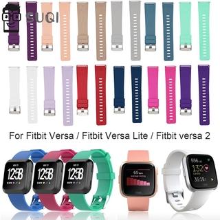 Dây Đeo Silicon Mềm Cho Đồng Hồ Thông Minh Fitbit Versa / Versa Lite / Versa 2