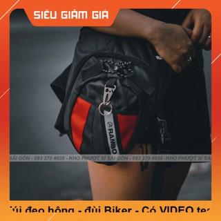 KHO SG- KHO SỈ - Túi đeo đùi RAMBO dùng đi tour, phượt tiện dụng - Túi đeo chéo đùi như form Dainese thumbnail